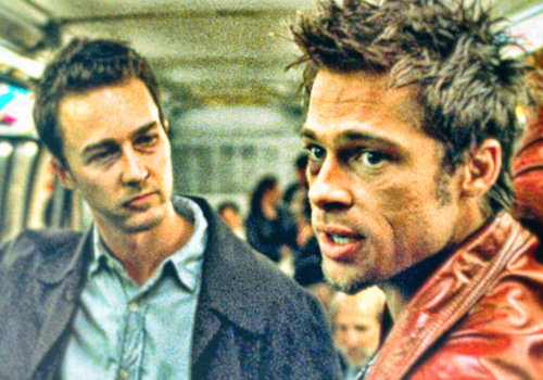 Fight Club - Brad Pitt / Edward Norton