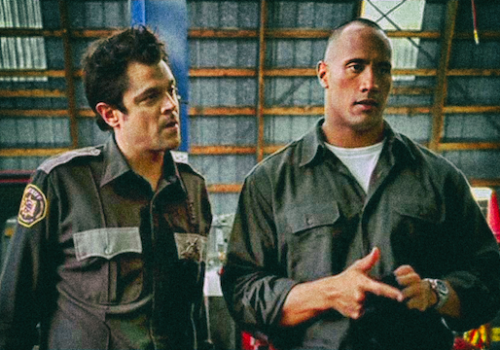 Walking Tall - Johnny Knoxville / The Rock